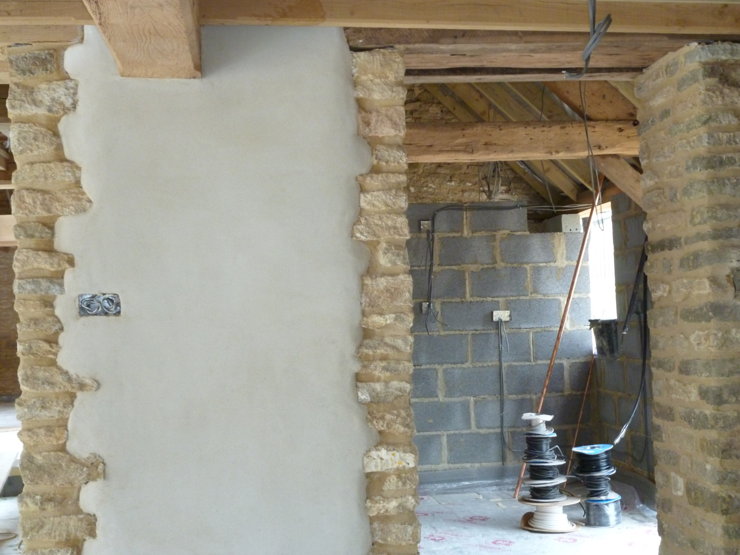 Marble Wall Plastering : Recent projects